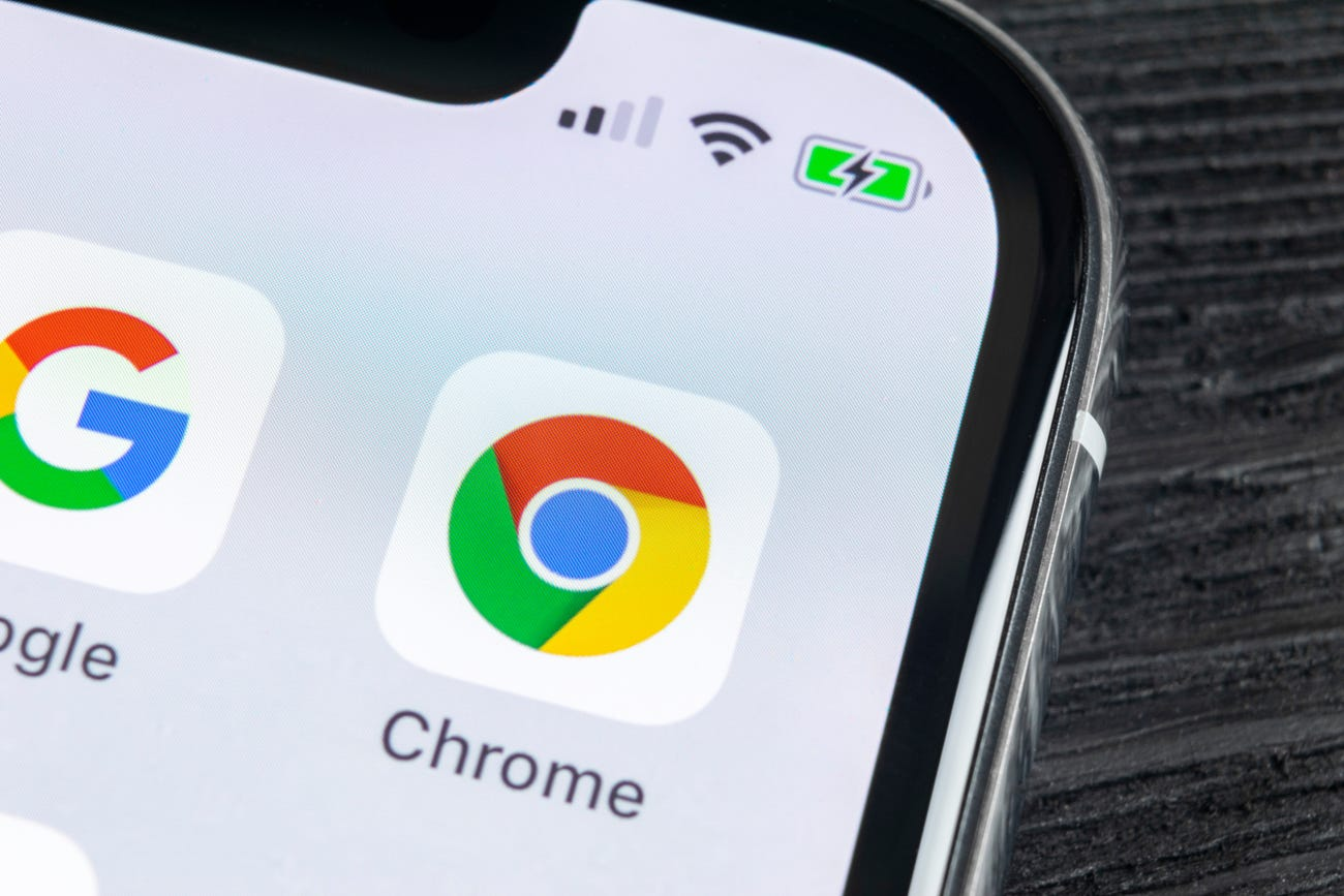Google Chrome is not working properly on iPhone