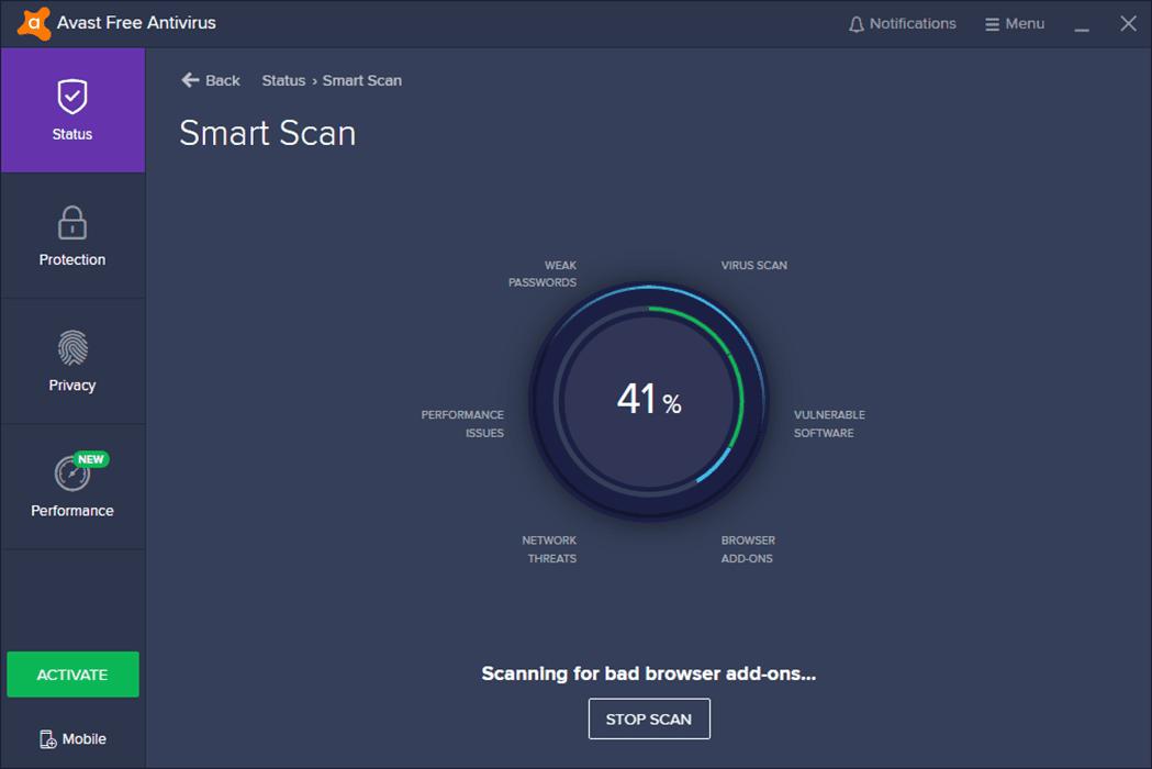 Avast Free Antivirus Not Working