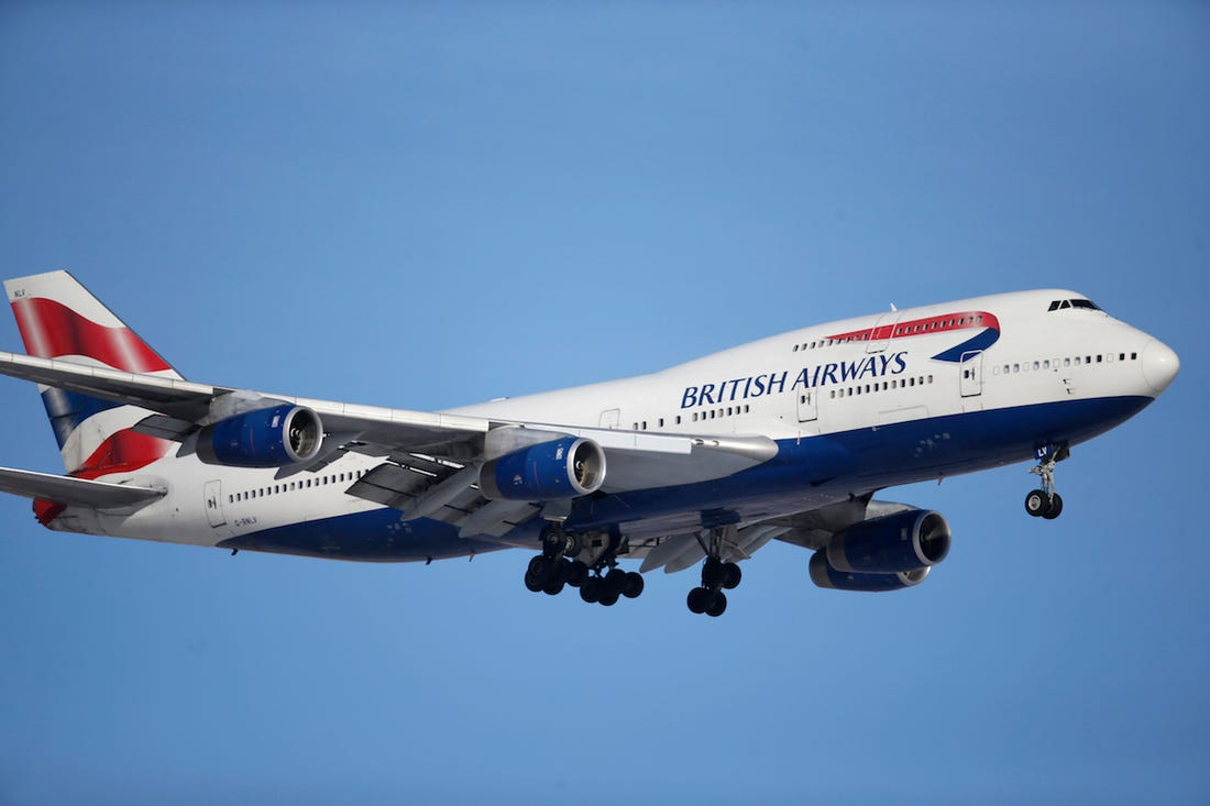 British Airways Manage Booking