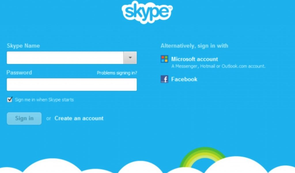 Recover Forgotten Skype Account Password