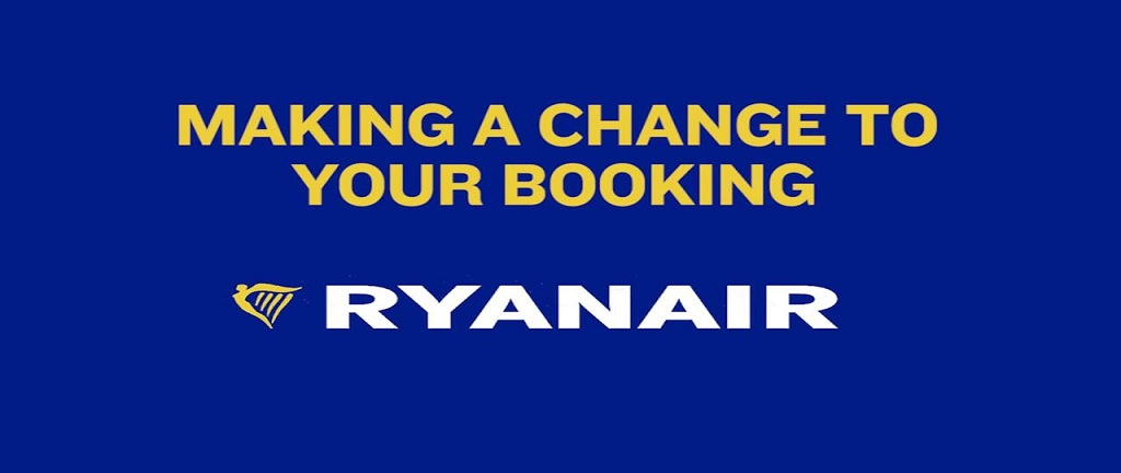 Ryanair Manage Booking