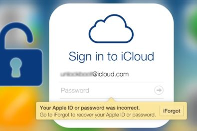 Recover Icloud Account Password