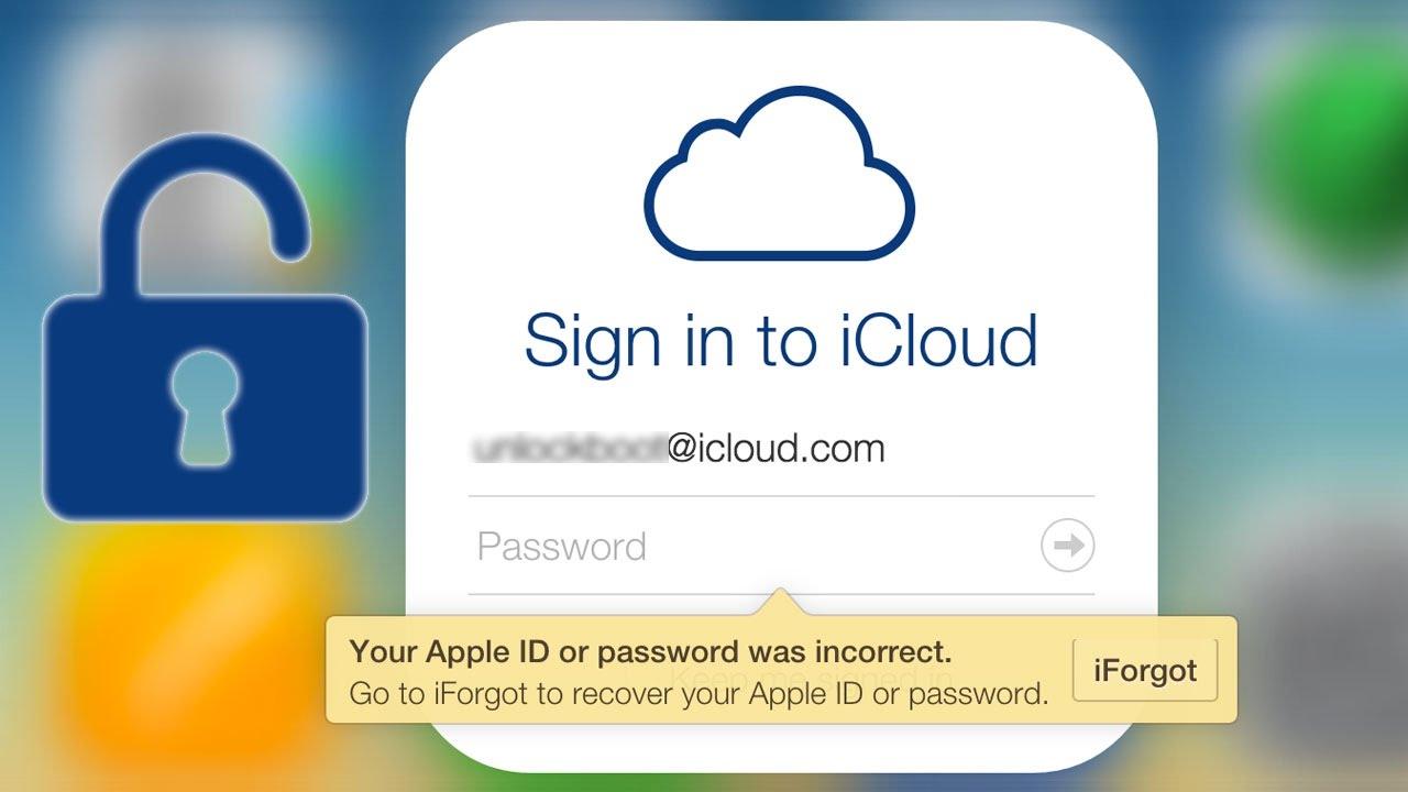 Recover Icloud Account Password