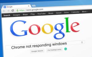 Chrome Not Responding Windows