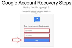 Passwords.Google.Com Account Recovery