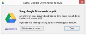 Google-Drive-Not-Working