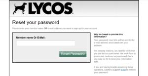 Lycos-Account-Password-Reset