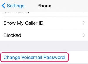 change-voicemail-password