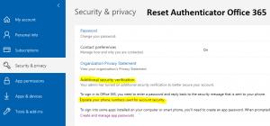 Reset-Authenticator