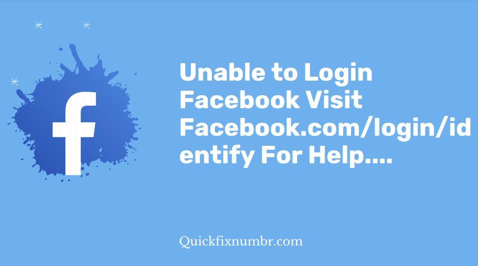 Facebook.com/login/identify