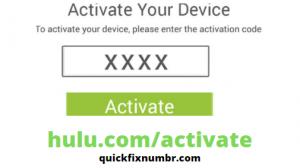 Activate-Hulu-Account