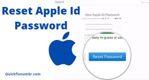 Reset-Apple-Id-Password