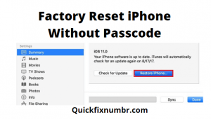 Factory-reset-iphone-without-password